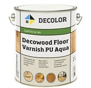 DECOWOOD FLOOR VARNISH PU AQUA